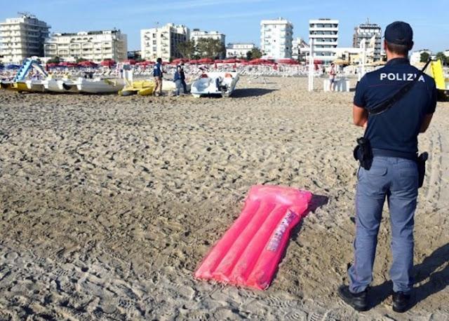 ITÁLIA: MIGRANTES MUÇULMANOS ESPANCAM TURISTA POLACO E VIOLAM A SUA ESPOSA EM GRUPO NA PRAIA DE RIMINI