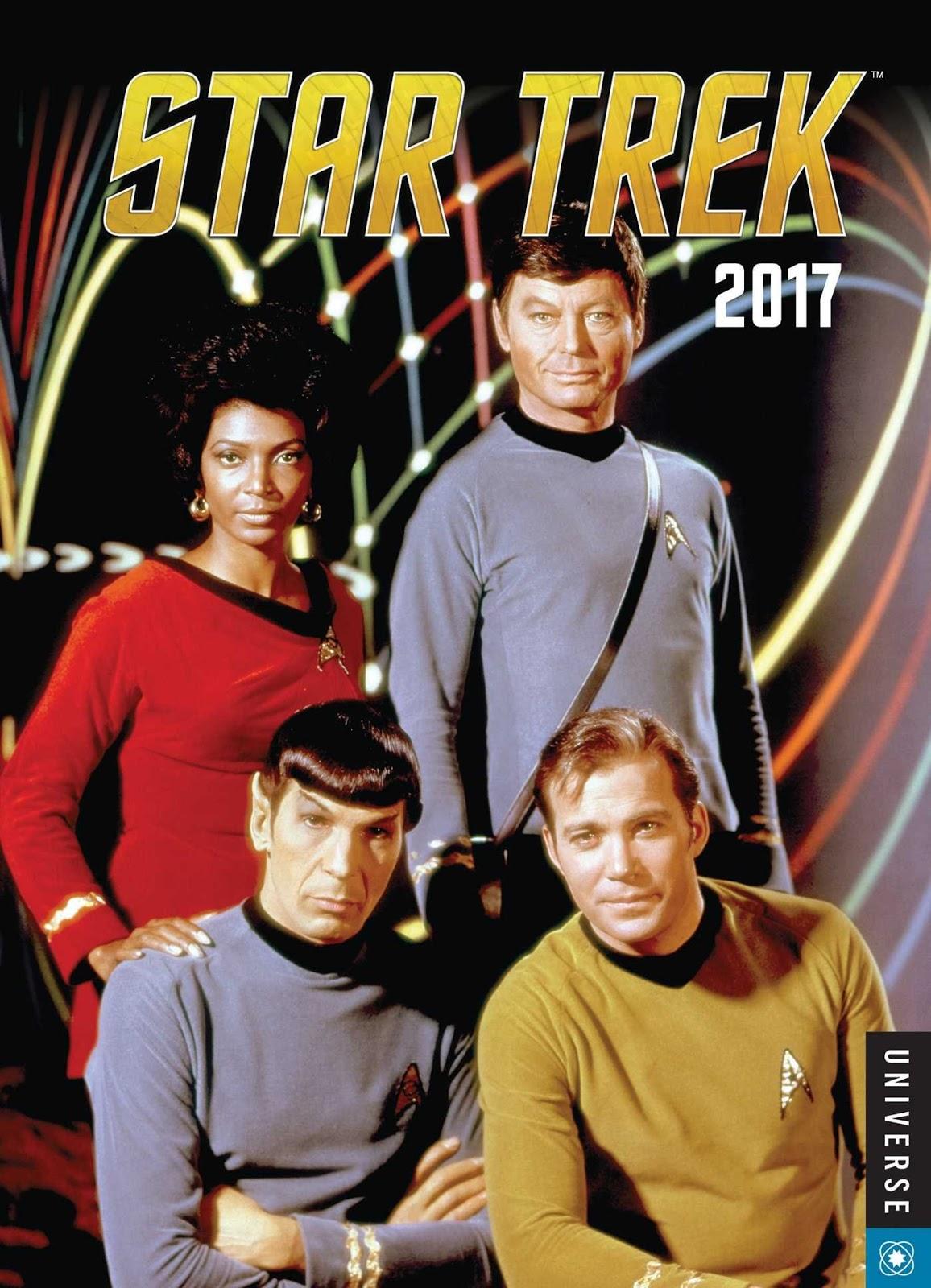 Trek Collective Lists: 2017 Star Trek calendars