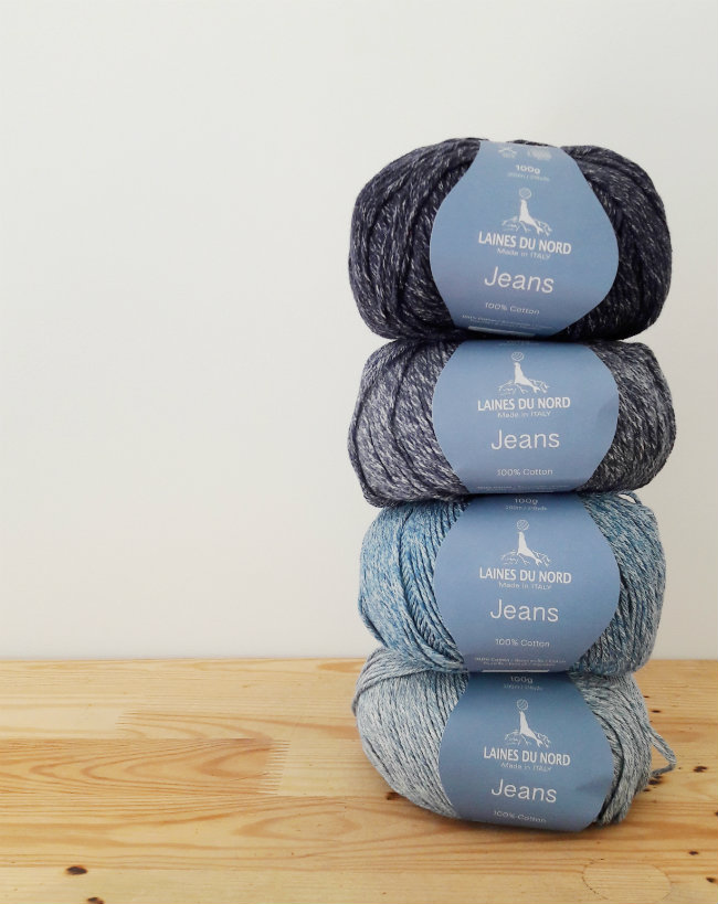 Laines du Nord, Jeans: Italian Yarn | Happy in Red