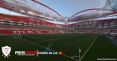 PES 2019 Stadium Estádio da Luz by Arthur Torres