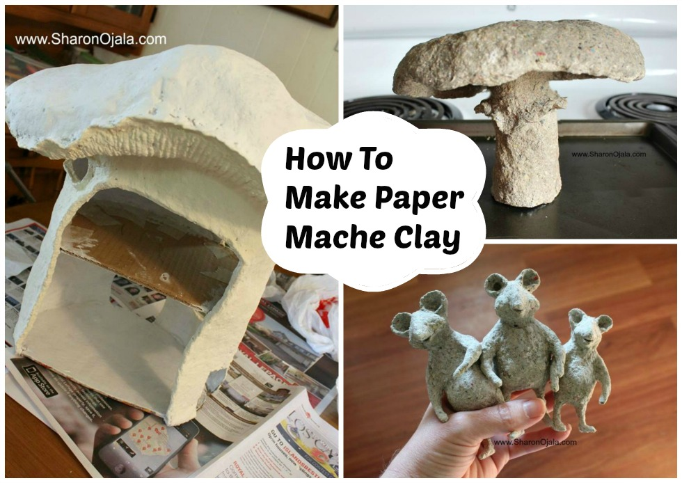 homemade obsessions how to paper mache paste and clay