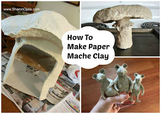 paper mache clay projects