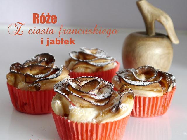 Róże z ciasta francuskiego i jabłek - Czytaj więcej »
