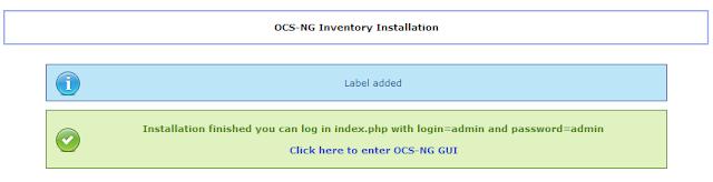 DriveMeca instalando OCSInventory 2.1 paso a paso