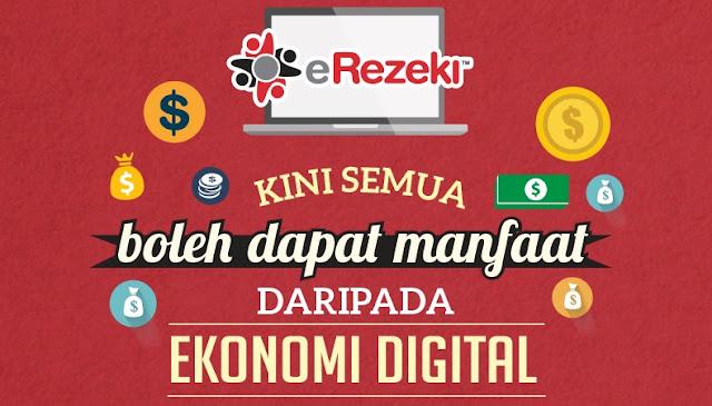 Jana Pendapatan Online Sebagai Pekerja Digital Kerajaan eRezeki