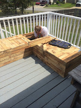 Diy Pallet Sectional Outdoor Furniture