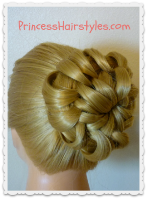 Prom Hairstyles Star Flower Bun Tutorial Hairstyles For