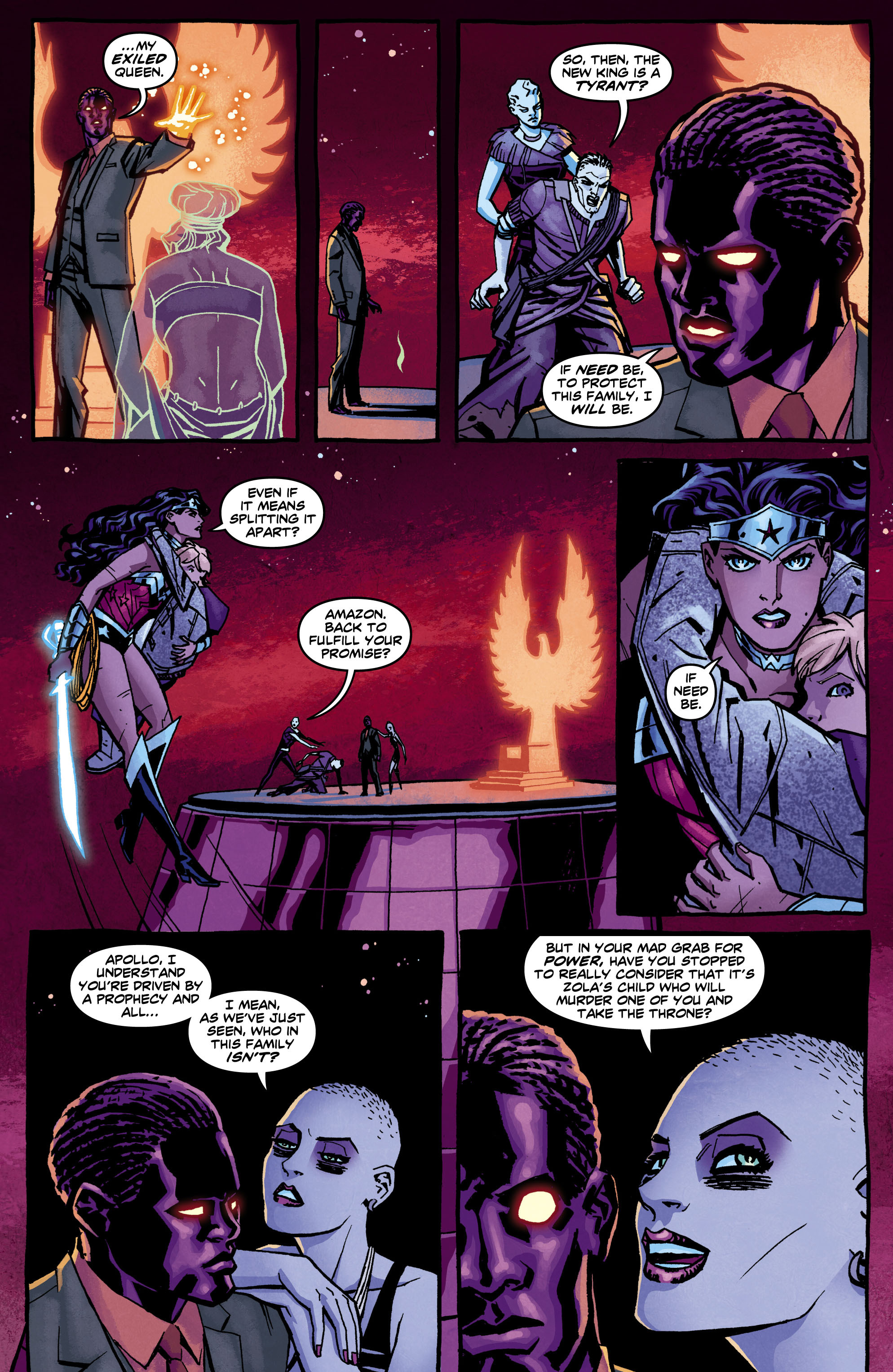 Read online Wonder Woman (2011) comic -  Issue #12 - 12