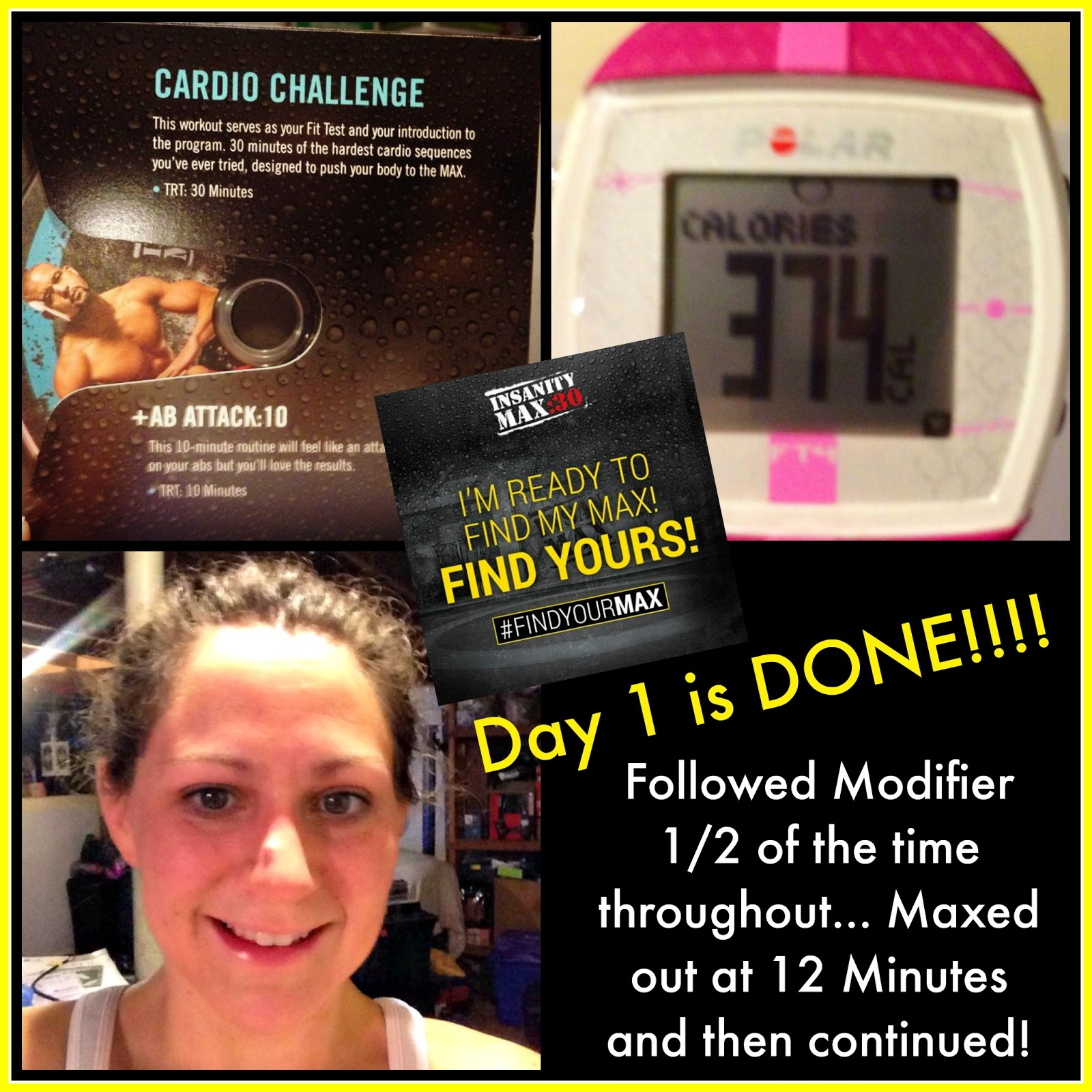 Kitchen Window: Insanity Max 30 Week 1 - Results and Review