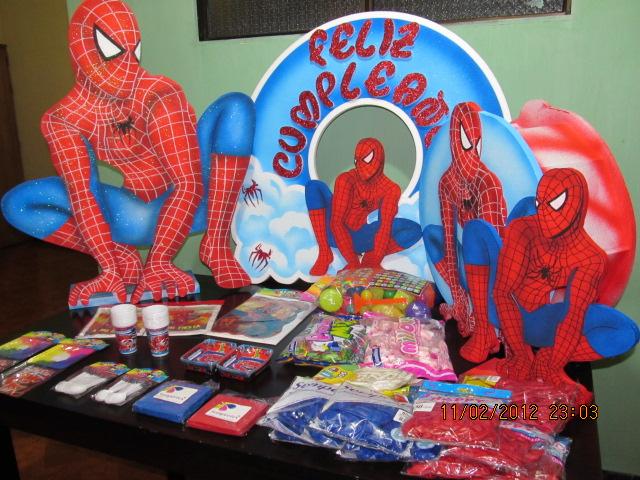 Decoracion hombre ara a spiderman fiestas infantiles y recreacionistas medellin - Adornos para fotos gratis ...