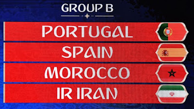 Portugal World Cup 2018 Group B