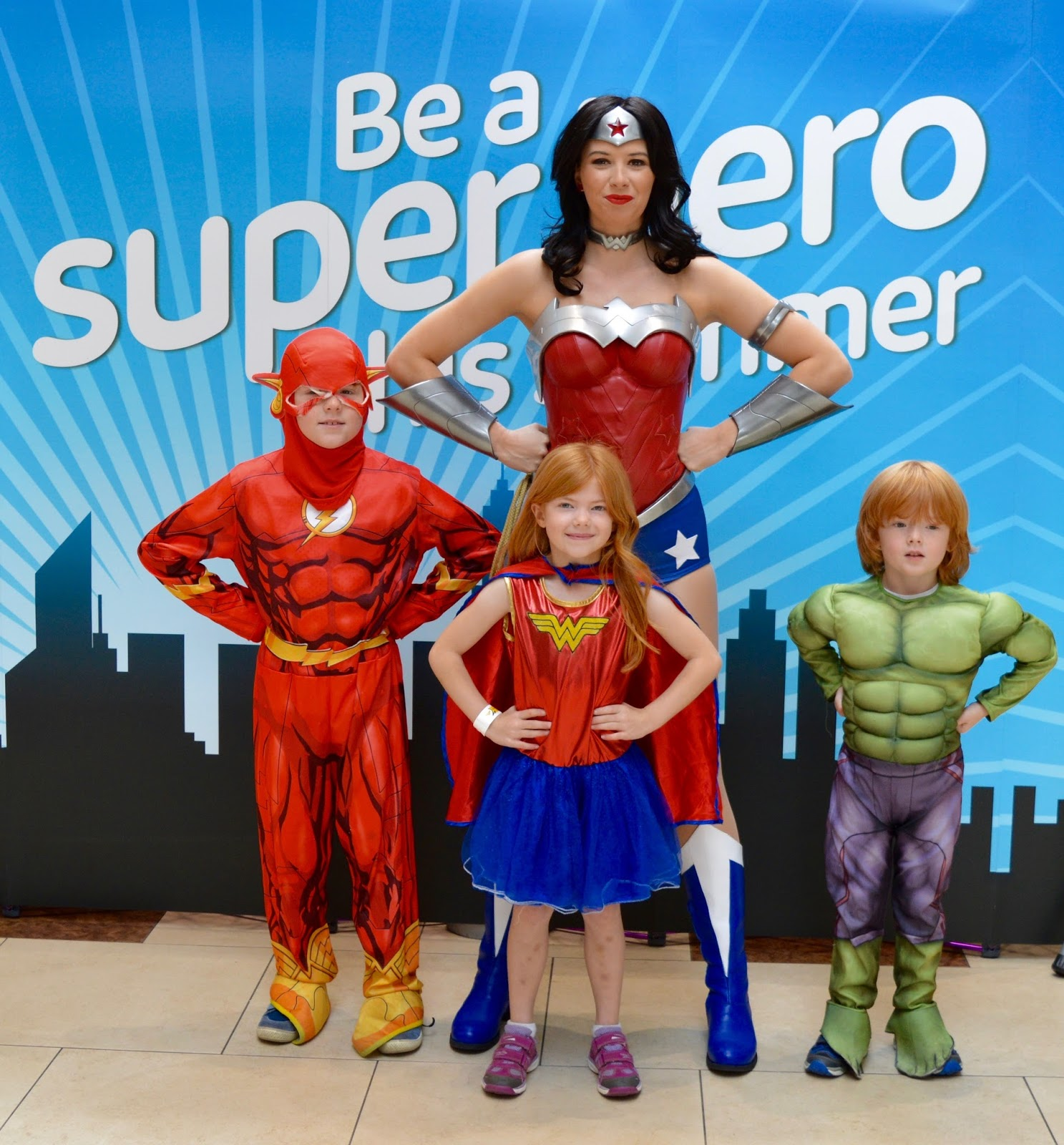 A Guide to The Best Family Days Out in the North East including meeting Wonder Woman at intu Eldon Square