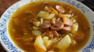 Суп из сосисок