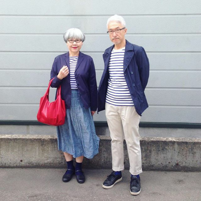 #8 - This Couple Married For 37 Years Always Dress In Matching Outfits