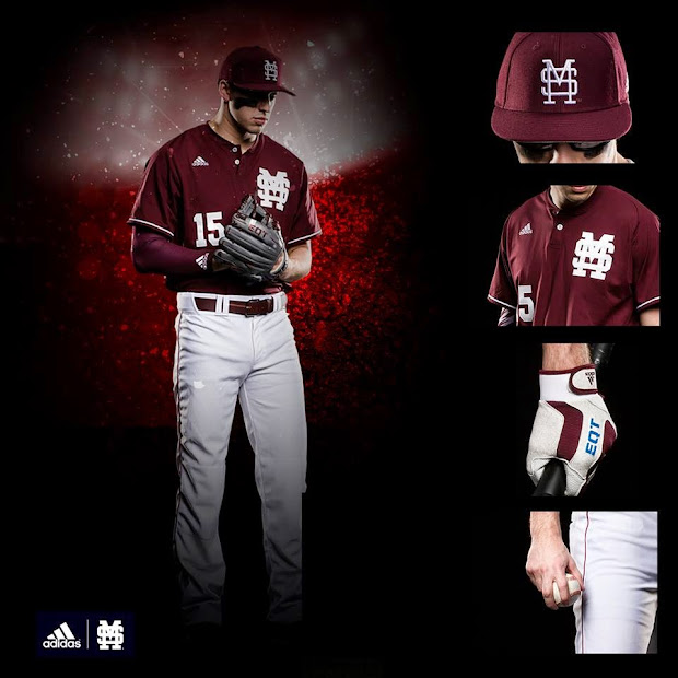 Mississippi State Baseball Uniforms