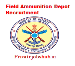 Field Ammunition Depot Recruitment