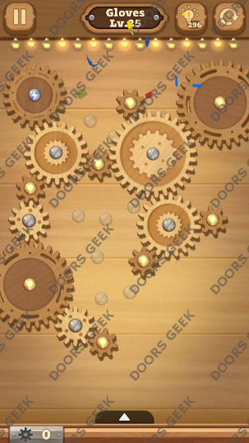 Fix it: Gear Puzzle [Gloves] Level 25 Solution, Cheats, Walkthrough for Android, iPhone, iPad and iPod