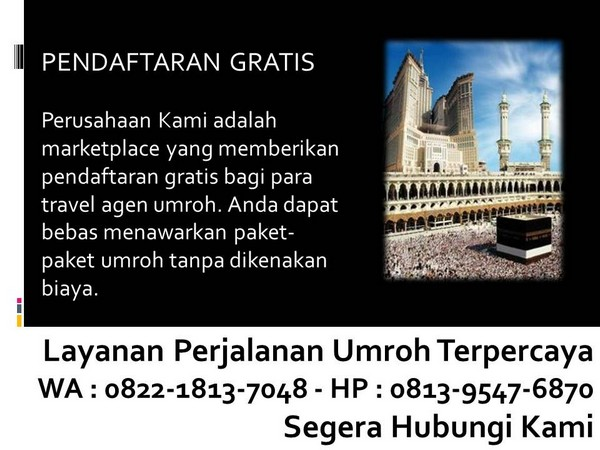 travel haji dan umroh di indonesia bandung