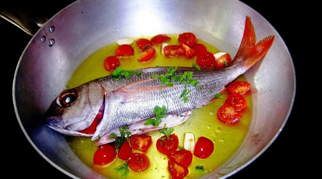 acqua pazza, the simplest southern Italian fish recipe