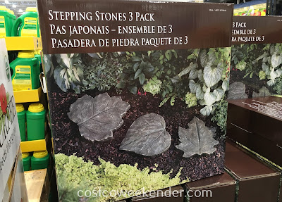Avoid stepping on mud or losing your footing with Stepping Stones 3 Pack