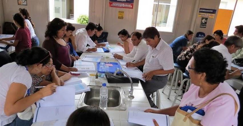 Docentes de la región Lambayeque son capacitados en cultura del agua, gracias a convenio entre la GREL y la Autoridad Nacional del Agua