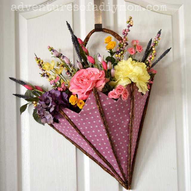 Spring Decor for Front Door