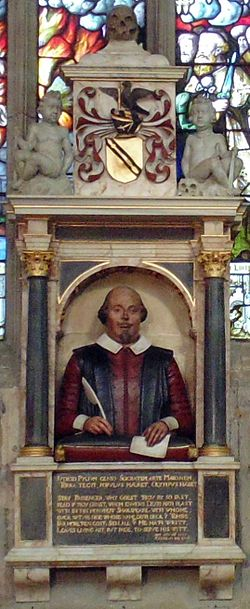Monumento funerario Shakespeare