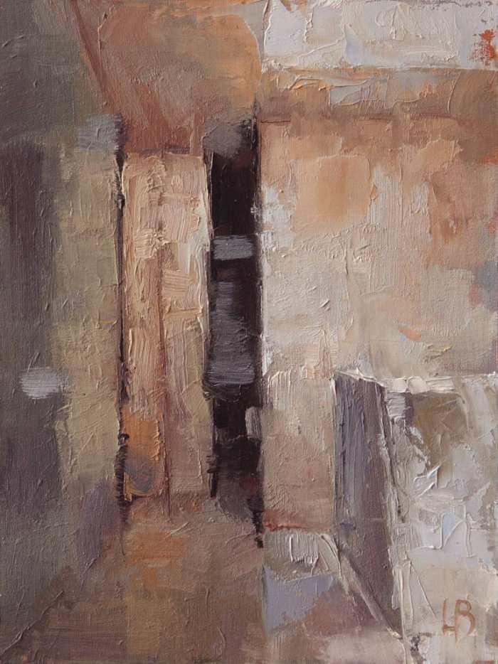 Мир масляной живописи. Ollie Le Brocq