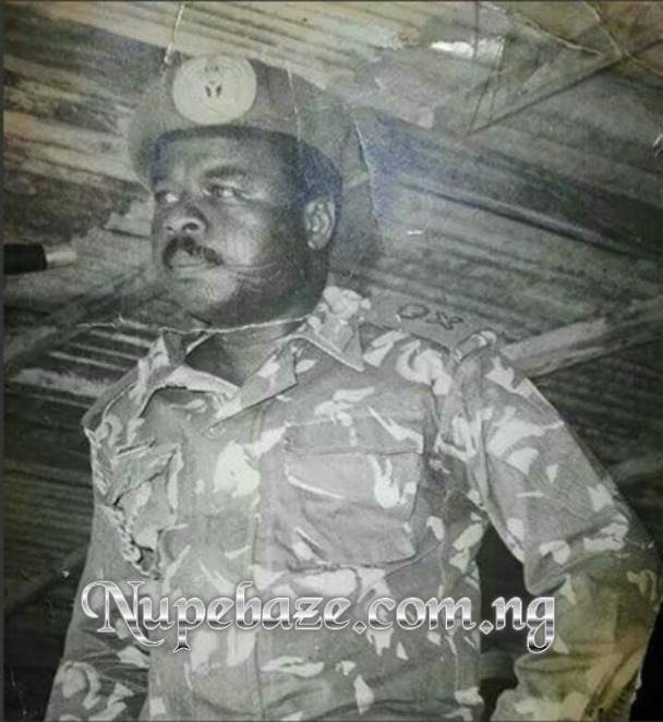 Major General Mamman Jiya Vatsa In Army Uniform , Major General Jiya Vatsa Biography