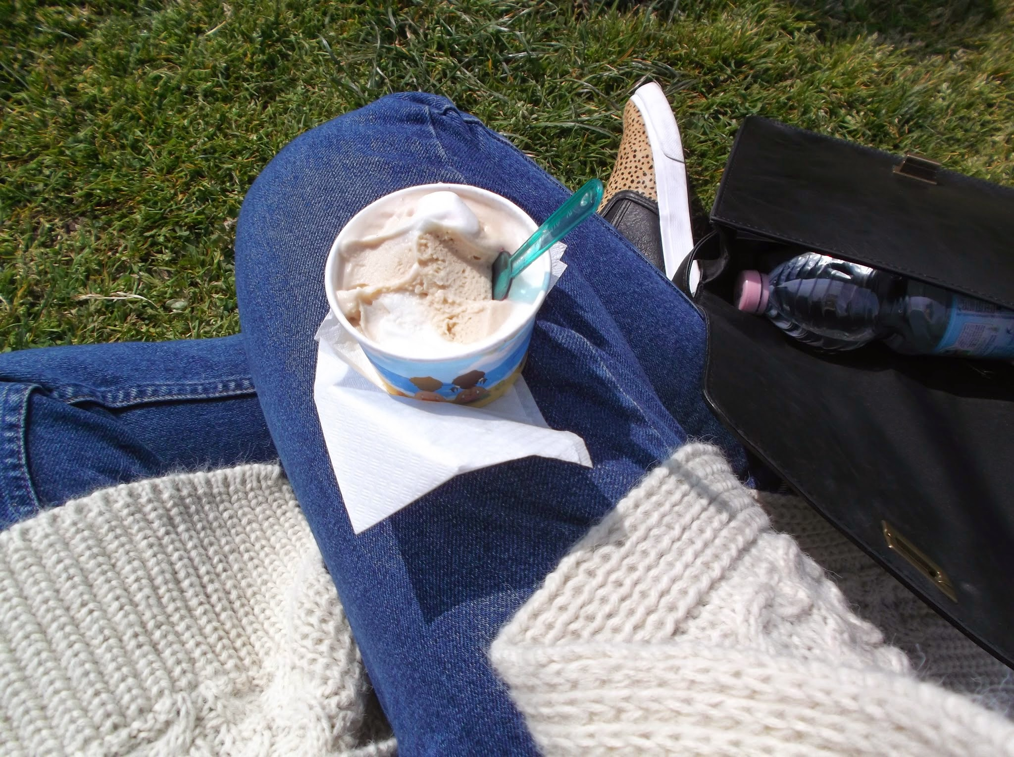 ice cream in the park