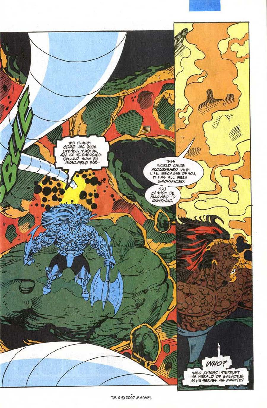 Read online Silver Surfer (1987) comic -  Issue #75 - 5