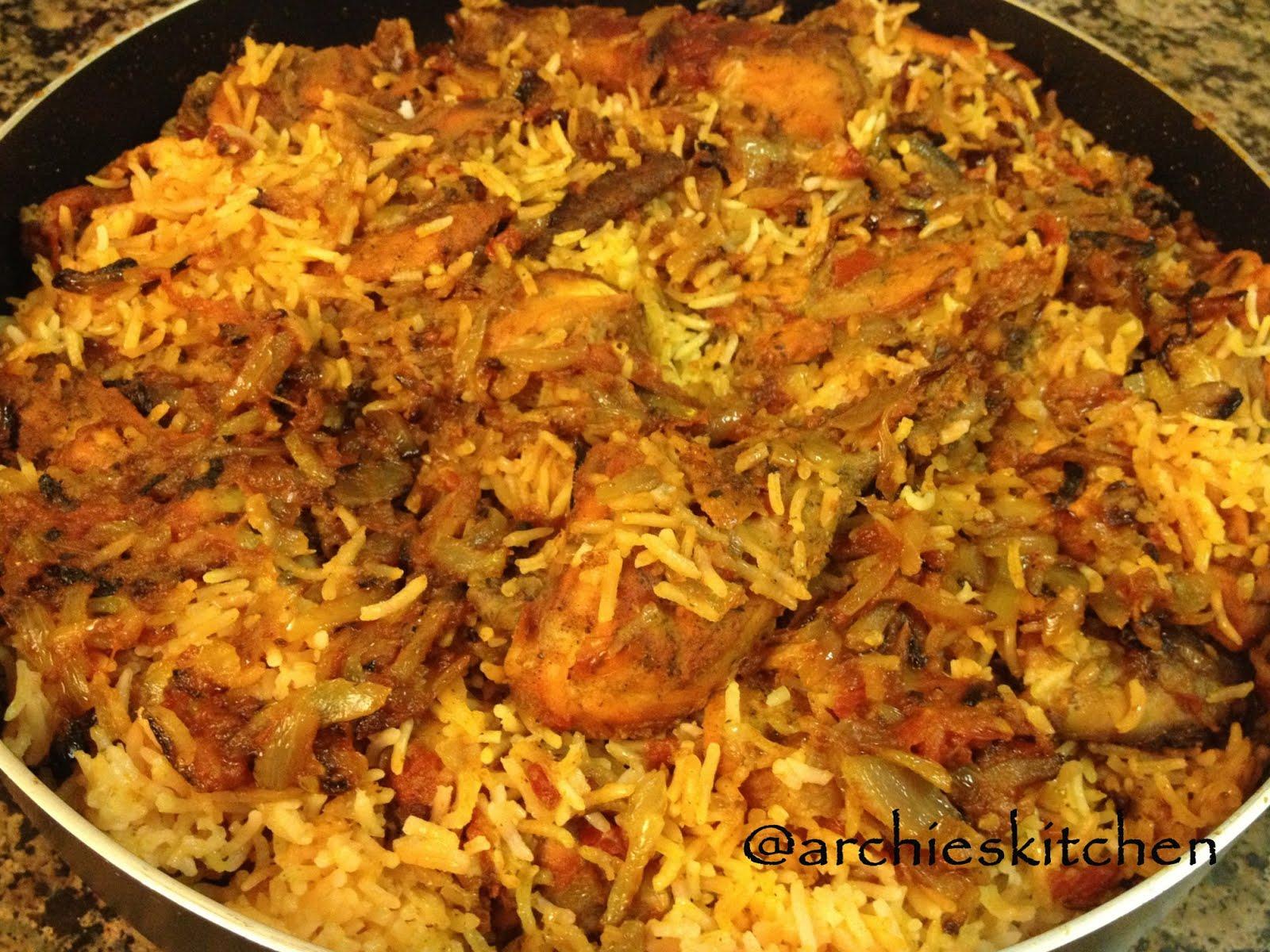 Tandoori Chicken Biryani