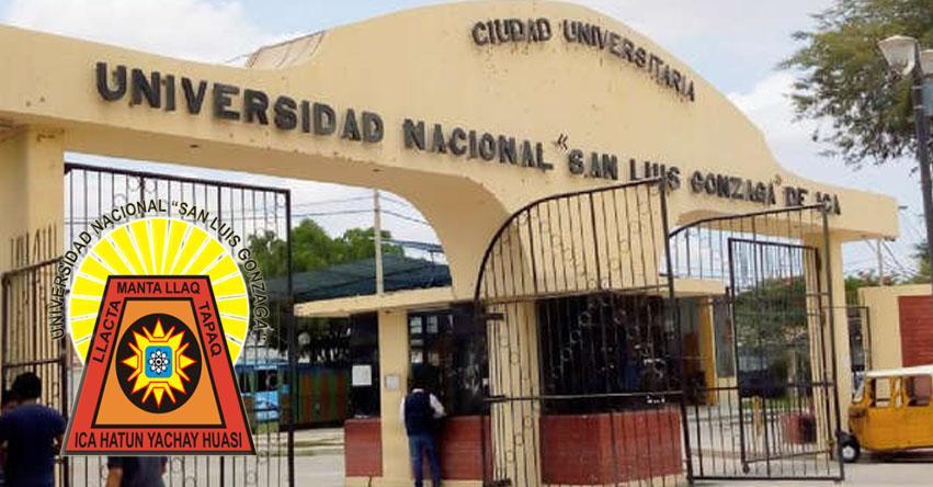 SUNEDU niega licenciamiento a la Universidad Nacional San Luis Gonzaga de Ica - UNICA - www.sunedu.gob.pe
