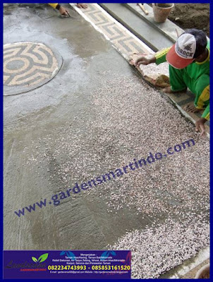 Proses Pembuatan Batu Ampyangan Karpot