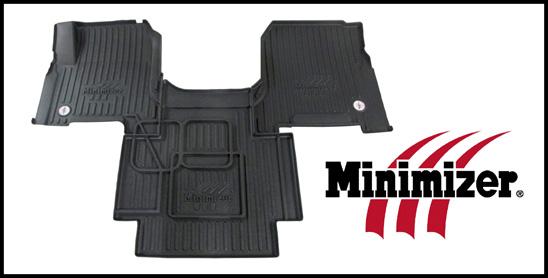 Minimizer Volvo floor mats