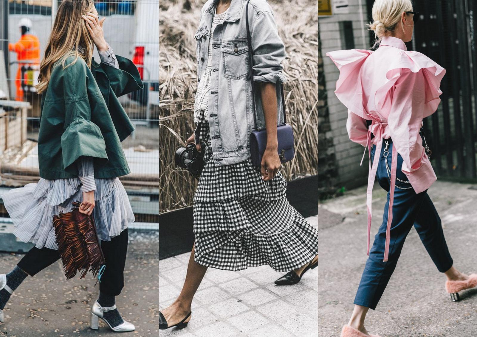 5 tipov ako nosiť volány a vyzerať šik // 5 chic ways how to wear ruffles