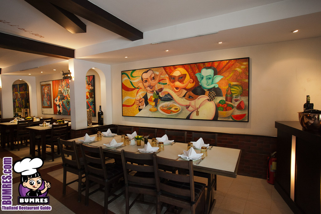 Bacco Italian Restaurant Bangkok