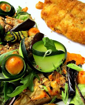 Sardine à la Milanaise, Légumes d'Été / Rouille