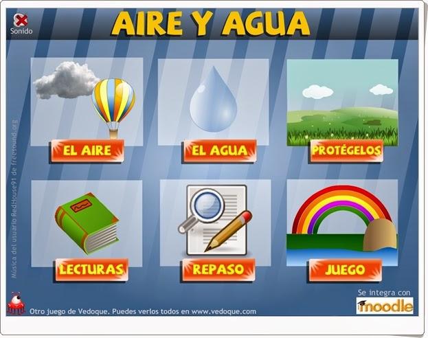 """""""Aire y agua"""" (Ciencias Naturales de Primaria)"""