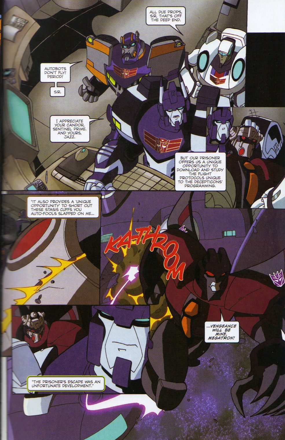 Read online Transformers Animated: The Arrival comic -  Issue #6 - 5