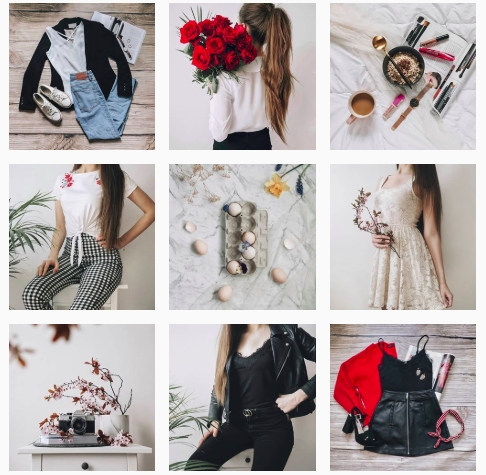 ładny instagram o modzie