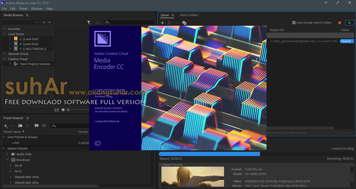 Free Download Adobe Media Encoder CC 2018 Final Full Version, Adobe Media Encoder CC 2018 Full Serial Number, Adobe Media Encoder CC 2018 License Key