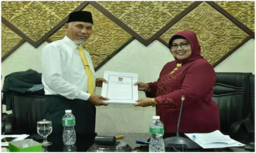 KUPA/ PPAS Perubahan APBD Kota Padang Tahun 2018 Disepakati
