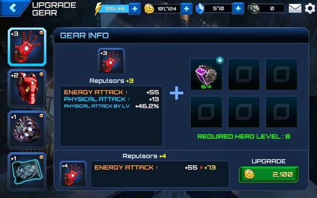 Gear Upgrades