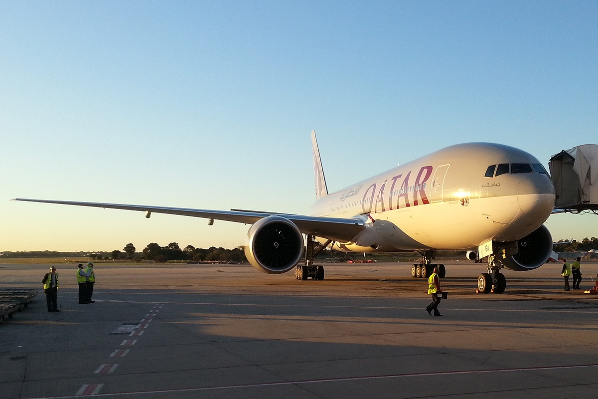 Perth What's On Today Perth Airport Spotter 39s Blog Qatar Airways Anniversary