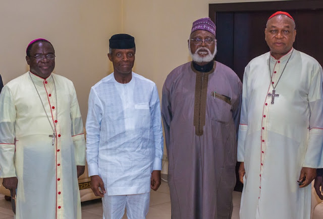National Peace Committee holds meeting with VP Osinbajo