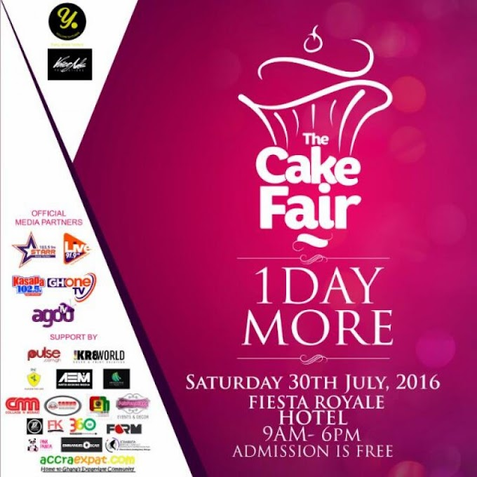 Ghana's first ever cake fair comes off July 30