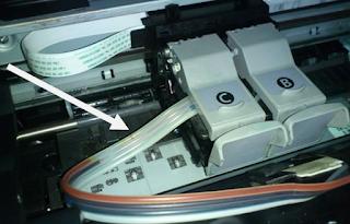 cara mengatasi printer masuk angin