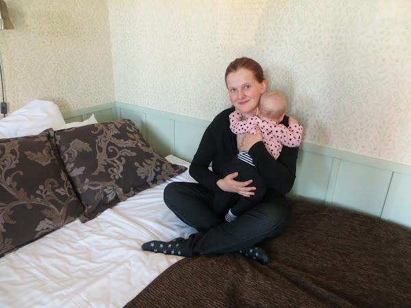 Miniloma vauvan kanssa