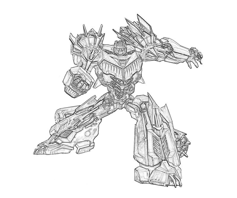transformers cybertron coloring pages - photo#28